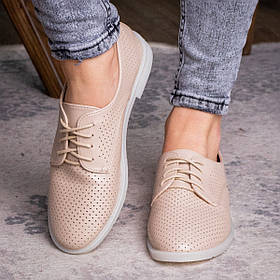 Женские туфли Fashion Lippy 1755 36 размер 23 см Бежевый
