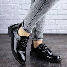 Женские туфли Fashion Prancer 2033 37 размер 24 см Черный