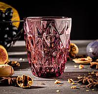Набір склянок «Круїз», 240 мл, колір рожевий 6 шт.