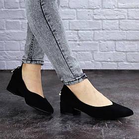 Женские туфли Fashion Tippy 2017 36 размер 23,5 см Черный