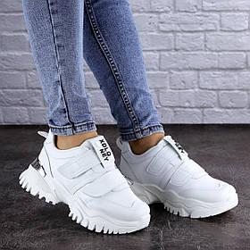 Сникеры жіночі Fashion Basey 2111 37 розмір 23 см Білий 39