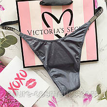 Стринги с камнями Victoria's Secret Very sexy rhinestone shine strap thong panty