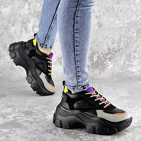 Сникеры женские Fashion Gunner 2265 38 размер 24 см Черный