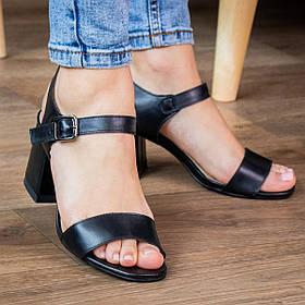 Жіночі босоніжки Fashion Daggi 2955 36 розмір, 23,5 см Чорний 40