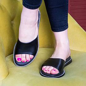 Шльопанці жіночі Fashion Annie 2918 36 розмір, 23,5 см Чорний
