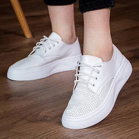 Кеди жіночі Fashion Abubu 2963 36 розмір, 23,5 см Білий