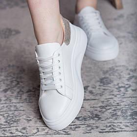 Кеди жіночі Fashion Alcuin 2745 36 розмір, 23,5 см Білий