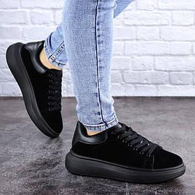Кеды женские Fashion Alenie 2101 37 размер 23,5 см Черный