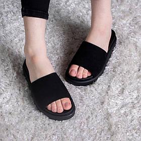Шльопанці жіночі Fashion Kan 2839 36 розмір, 23,5 см Чорний
