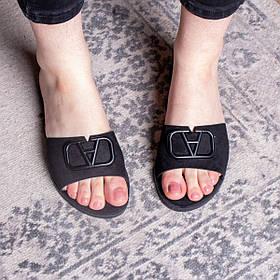 Шлепанцы женские Fashion Kan 2840 36 размер 23,5 см Черный