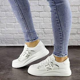 Женские кроссовки Fashion Vlnt 1466 39 размер 24,5 см Белый