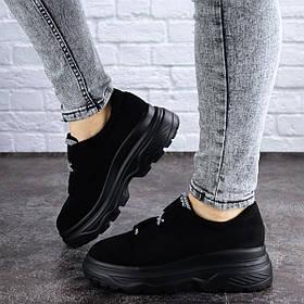 Женские кроссовки Fashion Waco 2013 36 размер 23 см Черный