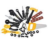 Набір інструментів 008-912 верстак 66-30-68см, інструменти, 50 деталей, фото 2