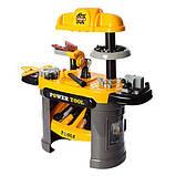 Набор инструментов 008-912 верстак 66-30-68см, инструменты, 50 деталей, фото 3