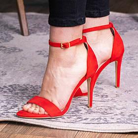 Женские босоножки Fashion Isha 2855 36 размер 23,5 см Красный
