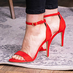Жіночі босоніжки Fashion Isha 2855 36 розмір, 23,5 см Червоний
