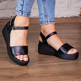 Жіночі босоніжки Fashion Jabba 2945 36 розмір 23 см Чорний
