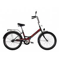 Велосипед 24 дюйма Салют 2409 AZIMUT Червоний