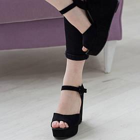 Женские босоножки Fashion Jabber 2719 38 размер 24 см Черный