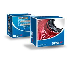 Нагрівальний кабель для електричного теплого статі DEVIflexTM 18T (DTIP-18) 935 Ват 52 метри, фото 2