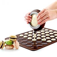 Коврик силиконовый для выпечки макарун 257*287 мм (шт)