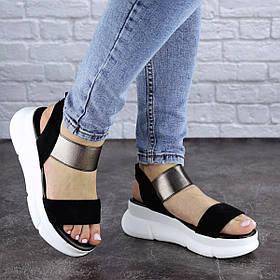 Женские сандалии Fashion Leia 1796 36 размер 23 см Черный