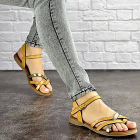 Женские сандалии Fashion Linda 1048 38 размер 24,5 см Коричневый