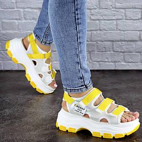 Женские сандалии Fashion Victoria 1846 37 размер 23,5 см Белый