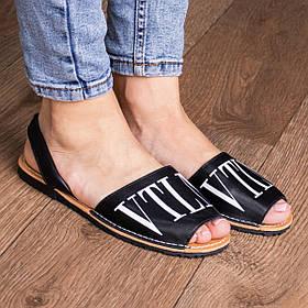 Женские сандалии Fashion Wiggles 1836 36 размер 23,5 см Черный