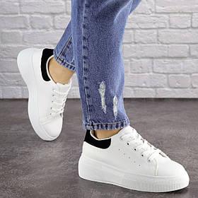 Жіночі кеди Fashion Brady 1656 37 розмір 23 см Білий 39