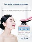 Микротоковый ліфтинг-масажер для обличчя MEDICA+ SKIN LIFTING 7.0 PN (EMS+LED) White, фото 3