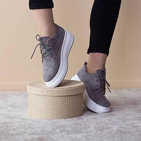 Лоферы женские Fashion Fillmore 2477 36 размер 23 см Серый