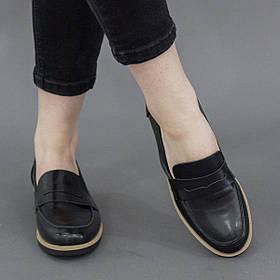 Лоферы женские Fashion Flicker 2804 38 размер 24,5 см Черный