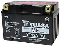 Мото аккумулятор YUASA YT12A-BS