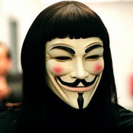 Маска Анонимуса Гая Фокса, фото 2