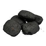 Деревний та вугільний брикет S. E. V. GRILL 2.5 кг + Стартер для розпалювання вугілля ( вугілля для, фото 3