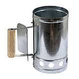 Деревний та вугільний брикет S. E. V. GRILL 2.5 кг + Стартер для розпалювання вугілля ( вугілля для, фото 4
