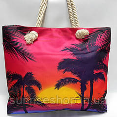 Пляжная сумка текстильная