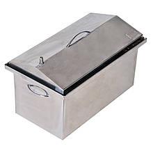 Коптильня гарячого копчення 1,5 мм 520х310х280мм Нержавійка