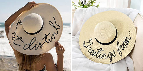 Как выбрать пляжную шляпу