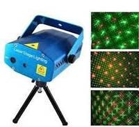 Лазерный проектор, стробоскоп, лазер шоу дискотека, фото 1
