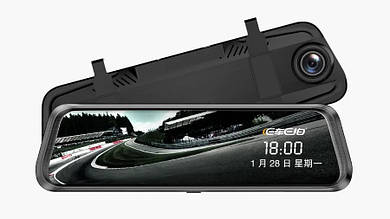 Зеркало-видеорегистратор с двумя камерами 1080P - DVR Anytek E92