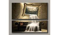 Модульная картина на холсте Глубокая картина 98х116,5 см (HAD-018)