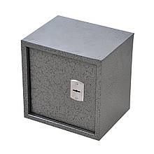 Сейф меблевий металевий для грошей паперів документів 30х30х25 см