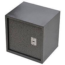 Сейф меблевий металевий для грошей паперів документів 50х50х40 см