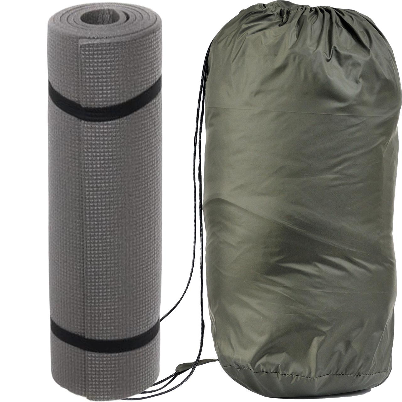 Спальний мішок для туризму і походів - ковдра для сну (Спальник)210х70см Похідний Весна/Літо Зелений + Каремат