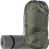 Спальний мішок для туризму і походів - ковдра для сну (Спальник)210х70см Похідний Весна/Літо Зелений + Каремат, фото 2