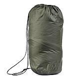 Спальний мішок для туризму і походів - ковдра для сну (Спальник)210х70см Похідний Весна/Літо Зелений + Каремат, фото 3