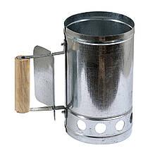 Стартер - чаша для розпалювання вугілля та брикетів аэрогриля 250х150мм