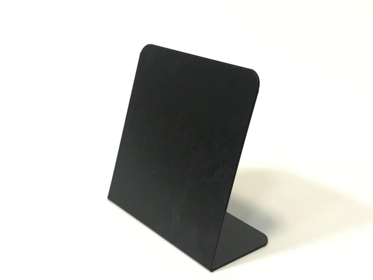 Ценник меловой пластиковый  угловой L-образный квадратный